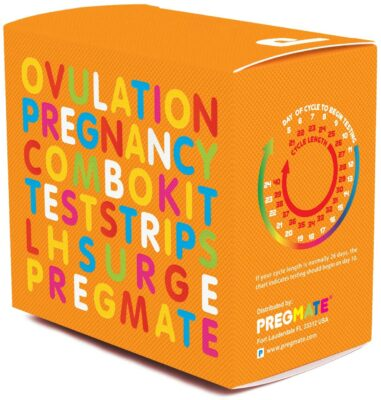 PREGMATE Ovulation & Pregnancy Predictor Kit