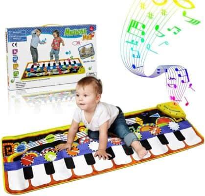 RenFox Kids Piano Keyboard Dance Floor Mat