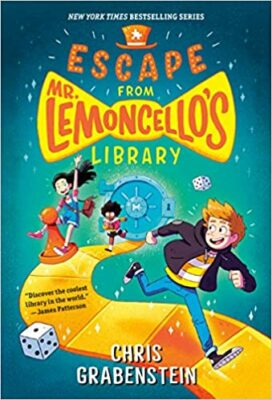 Escape from Mr. Limencello's Library, by Chris Grabenstein