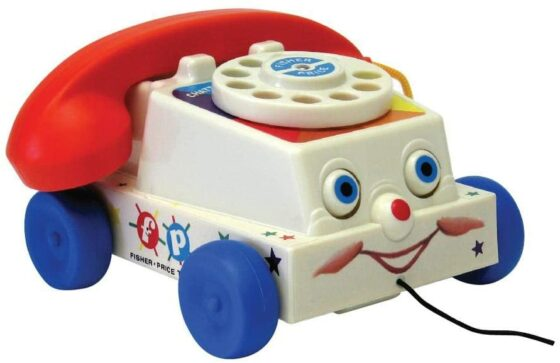 Fisher-Price Classics Retro Chatter Phone