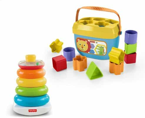 Fisher-Price Rock-A-Stack and First Blocks Bundle