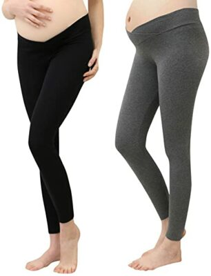 Foucome Women's Support Maternity Leggings