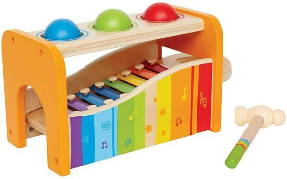 Hape Pound & Tap Bench with Xylophone