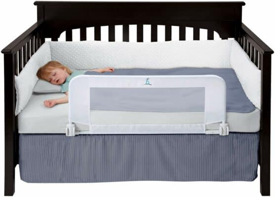 Hiccapop Convertible Crib Bed Rail Guard
