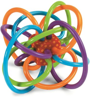Manhattan Toy Winkle Rattle and Teether