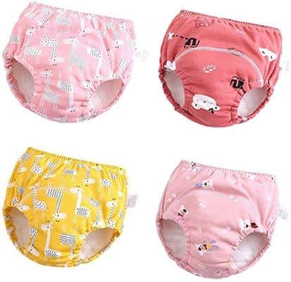 U0U Cotton Toddler Potty Training Underwear