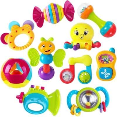 iPlay, iLearn 10 Pieces Educational Toys