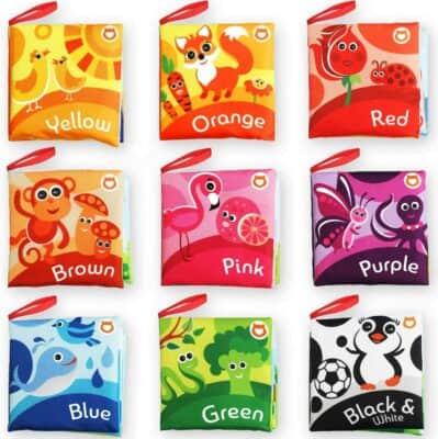 BabyBibi Color Recognition Soft Books Set