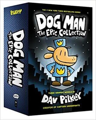 Dog Man, The Epic Collection #1-3 Box Set by Dav Pilkey