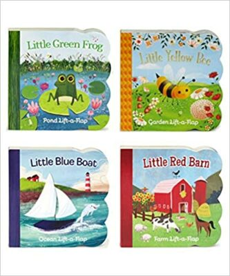 Four Chunky Lift a Flap Books by Ginger Swift