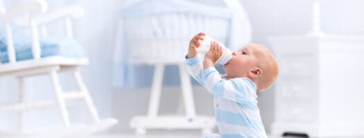 How Much Milk Should Babies Drink?