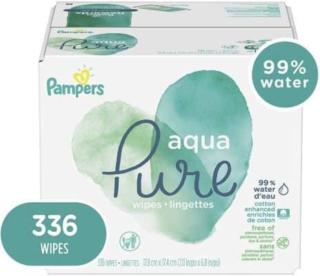 Pampers Aqua Pure Sensitive Water Diaper Wipes