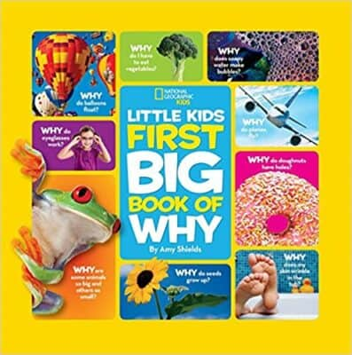 The National Geographic Little Kids Big Book of Why by Amy Shields