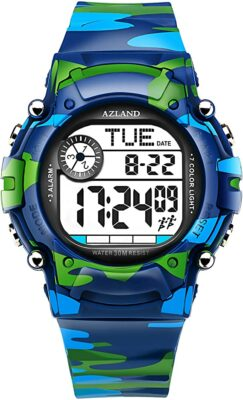 AZLAND 3 Sports Kids Watch