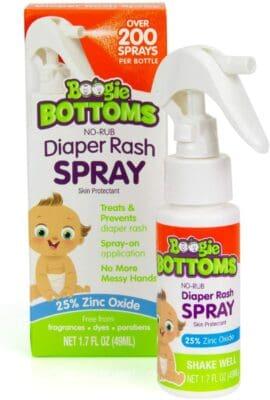 Boogie Bottoms Diaper Rash Spray