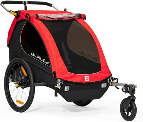Burley Honey Bee Bike Trailer and Stroller