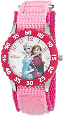 Disney Kids' Frozen Elsa & Anna Time Watch