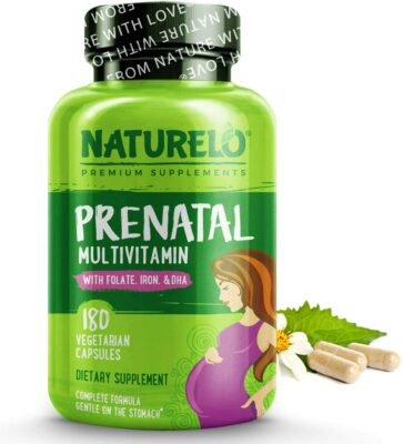 NATURELO Prenatal Multivitamin with DHA
