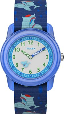 Timex Analog Elastic Fabric Strap Watch