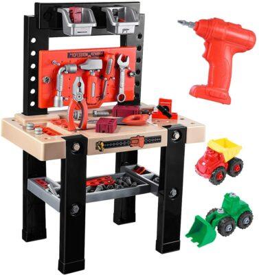 iBaseToy Kids Tool Bench