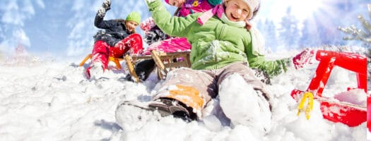 On What Fun it Is to Ride: Best Snow Sleds for Kids