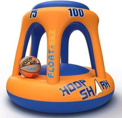 Float-Eez Hoop Shark Swimming Pool Hoop Set