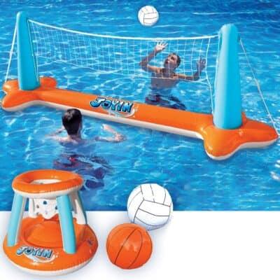 Joyin Floating Volleyball and Basketball Set