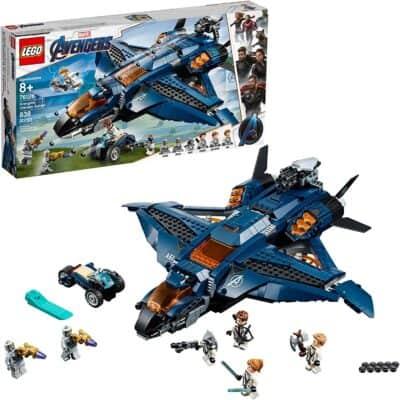 LEGO Marvel Avengers Quinjet Building Kit