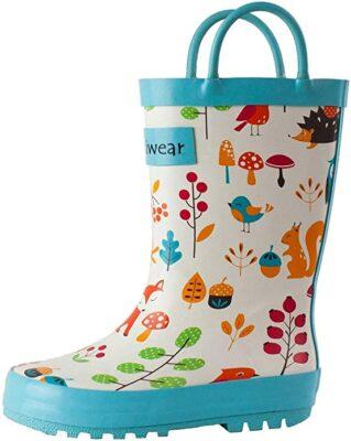 OAKI Rubber Rain Boots