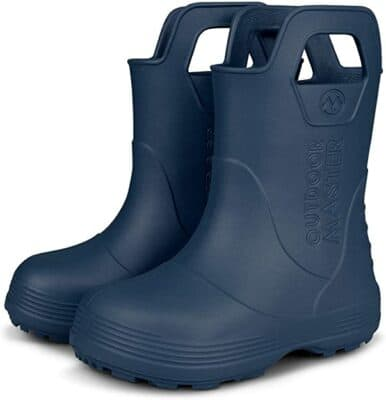 OutdoorMaster Toddler Rain Boots