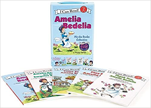 The Amelia Bedelia series, by Peggy Parish
