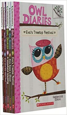 The Owl Diaries series, by Rebecca Elliot