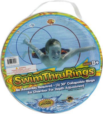 Water Sports Swim Thru Rings