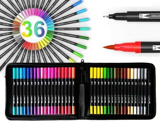 Brush Pen Art Marker Set