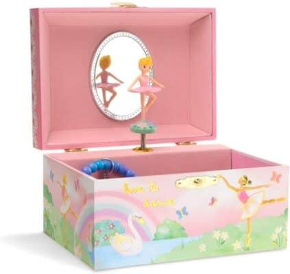 Jewelkeeper Girl's Musical Jewelry Storage Box