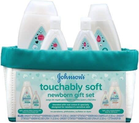 Johnson's Touchably Soft Newborn Baby Gift Set