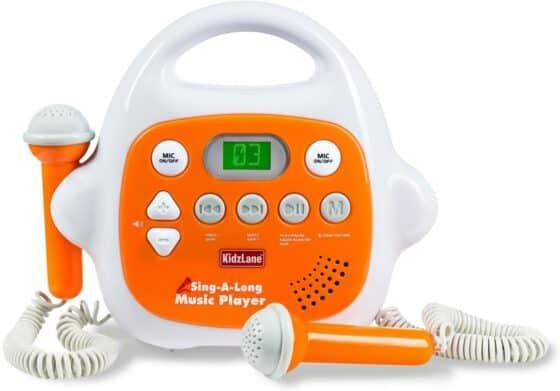 Kidzlane Sing-a-Long Music Player