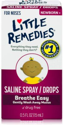 Little Remedies Saline Spray and Drops