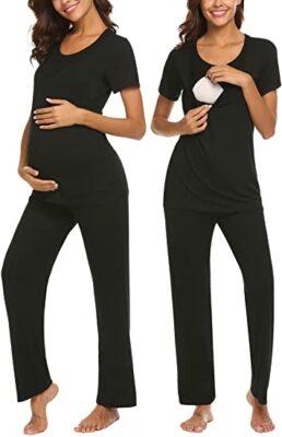 Maxmoda Nursing & Maternity Pajamas Set