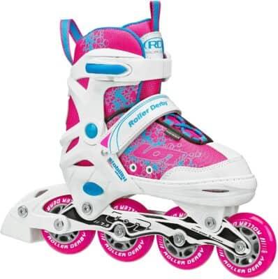 Roller Derby Girls Ion Adjustable Inline Skates