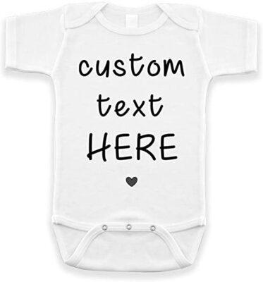 BlueSkyCreations Custom Baby Onesie