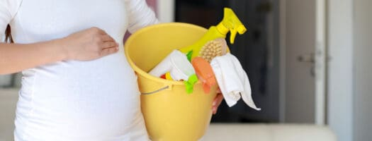 Cleaning During Pregnancy: Is It Safe?