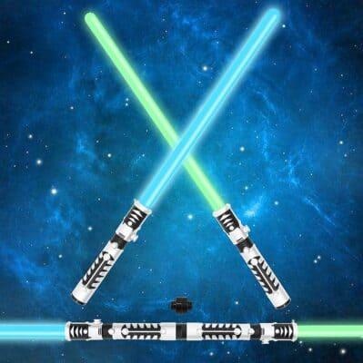 JOYIN Light up Saber Dual Light Swords Set