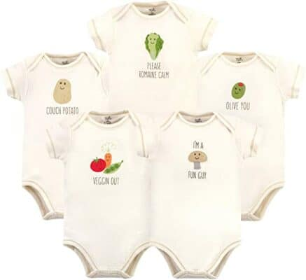Touched by Nature Organic Cotton Bodysuits