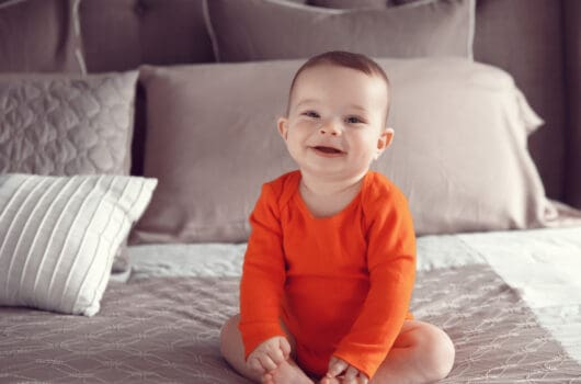 Best Baby Onesies to Romp Around the House In